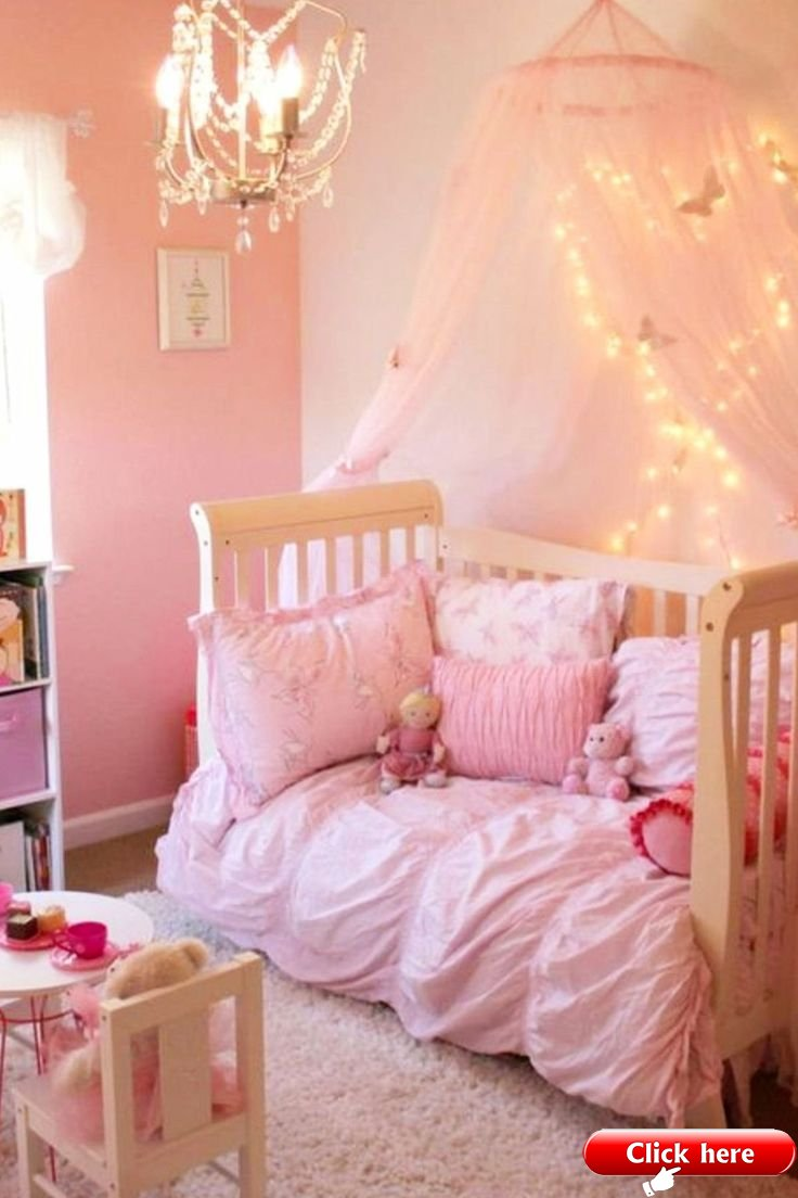 - Little Girl Bedroom Ideas And Adorable Canopy Beds For Toddler