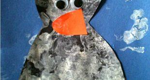Simple Penguin Craft