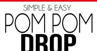 Simple Pom Pom Drop Activity