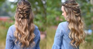 Hairstyles For Little Girls With Long Hair | Simple Short Haircuts For Women | T...
