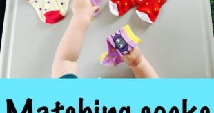Matching socks toddler activity, montessori activity for toddlers, activities fo...